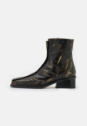 MIKI BOOT  - Korte laarzen - two tone black