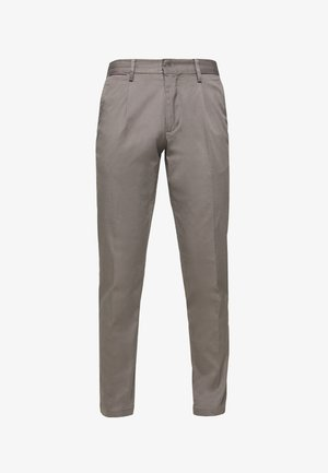 TAPERED SUMMER FLEX - Pantalon classique - grey
