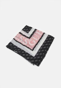 Guess - SCARF MONIQUE PRINTED KEFIAH - Foulard - black - 0