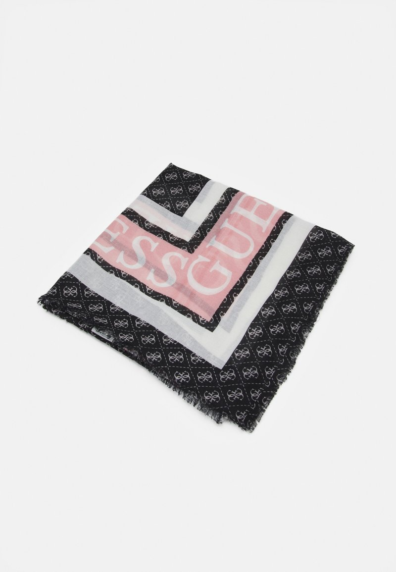 Guess - SCARF MONIQUE PRINTED KEFIAH - Foulard - black