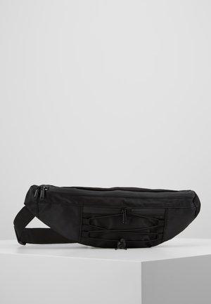 BANANA SHOULDER BAG - Bum bag - black