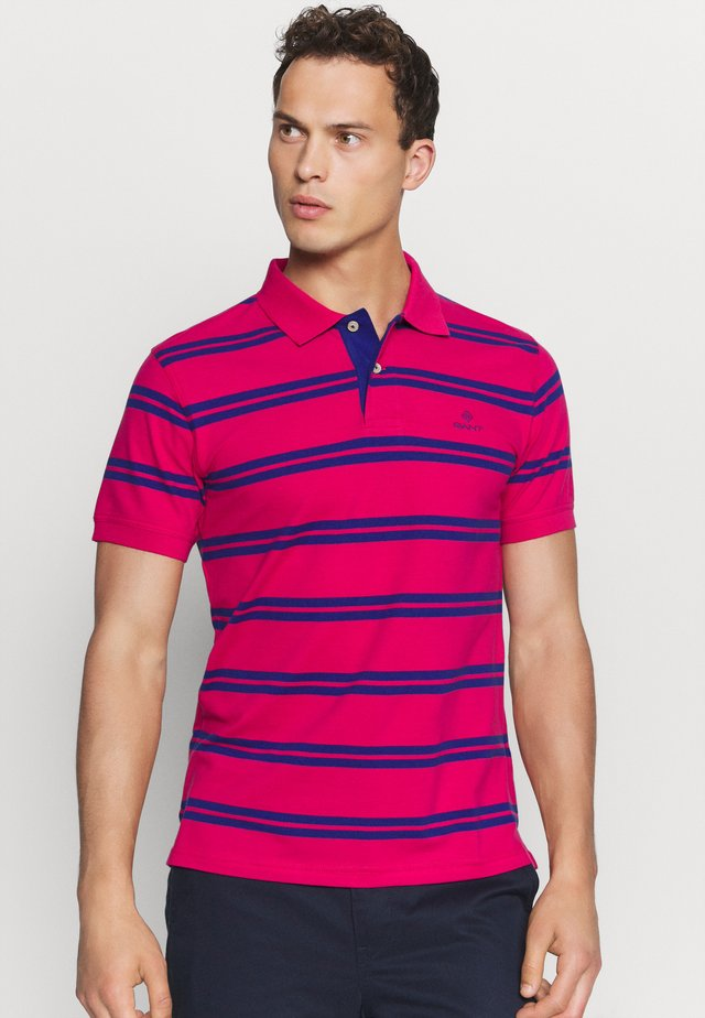CONTRAST STRIPE COLLAR - Polo shirt - love potion