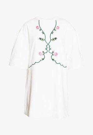DRESS - Denní šaty - ecru