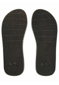 Quiksilver - MOLOKAI ABYSS NATURAL - T-bar sandals - black/brown/brown - 2