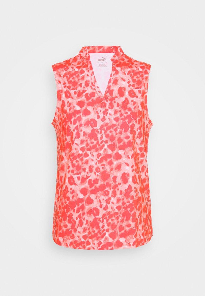 Puma Golf - CLOUDSPUN WILDER  - Polo shirt - georgia peach/cloud/pink