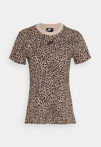 Nike Sportswear - PACK TEE - Print T-shirt - beige - 4