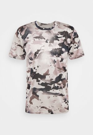 DRY TEE - T-shirts print - college grey/smoke grey