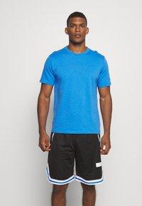 Puma - HOOPS TEE - Print T-shirt - palace blue - 0