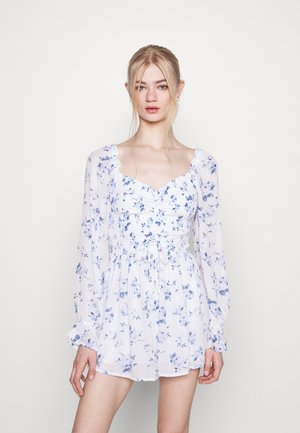 ROMPER - Overal - white floral