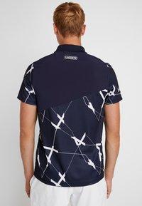 Lacoste Sport - TENNIS GRAPHIC - Piké - navy blue/white - 2
