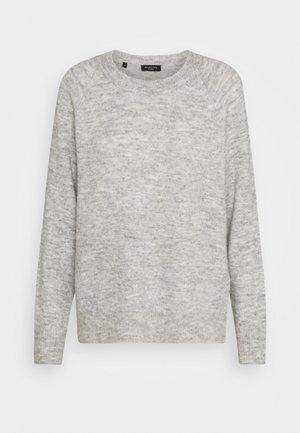 SLFLULU O NECK  - Svetr - light grey melange