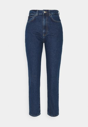 MOM FIT JEANS - Jeans Tapered Fit - blue denim