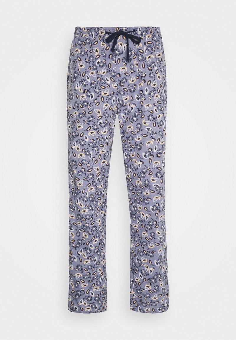 Schiesser - Pyžamový spodní díl - jeansblau