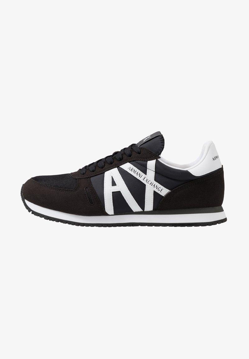 Armani Exchange - RUNNER - Trainers - black/white