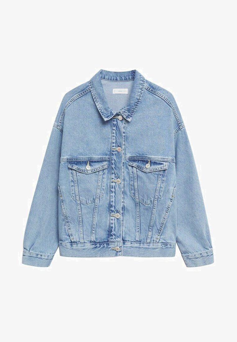 Mango - ESTRELLA - Denim jacket - hellblau