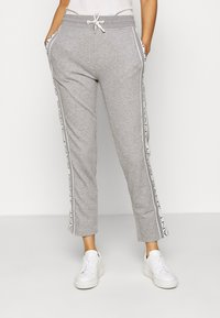 GANT - STRIPES PANTS - Tracksuit bottoms - grey - 0