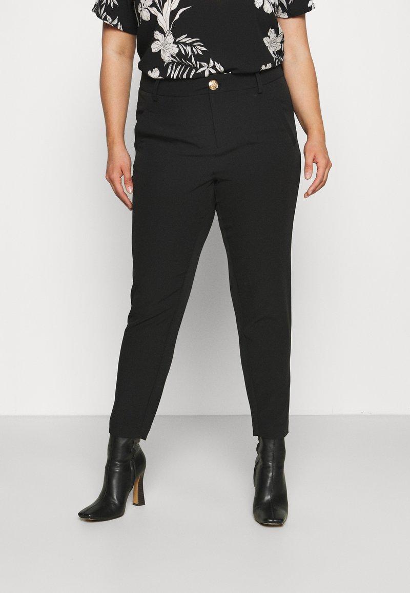 Zizzi - JMALIAH CROP PANT - Bukse - black