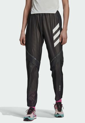 W AGR RAIN PNT - Pantalon de survêtement - black
