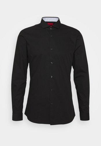 ERRIK SLIM FIT - Kostymskjorta - black