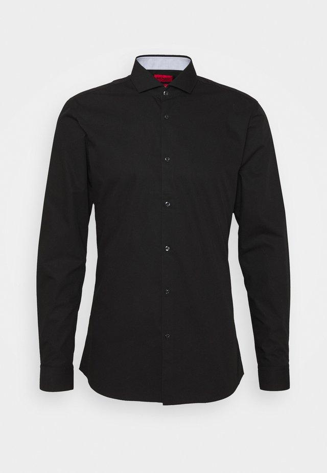 ERRIK SLIM FIT - Zakelijk overhemd - black