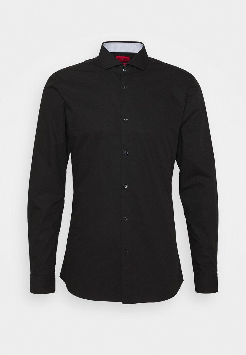 HUGO - ERRIK SLIM FIT - Formal shirt - black