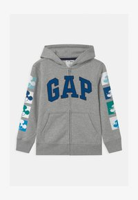 GAP - MICKEY  - Zip-up hoodie - light heather grey - 0