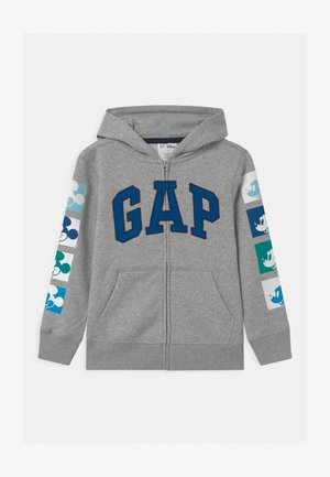 MICKEY  - Zip-up hoodie - light heather grey