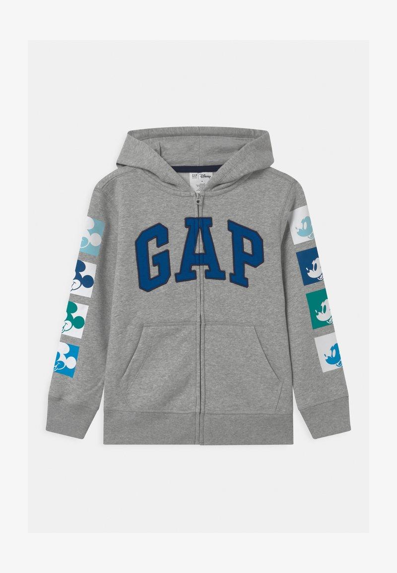 GAP - MICKEY  - Zip-up hoodie - light heather grey