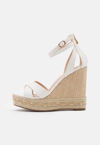 Tata Italia - Platform sandals - white - 1