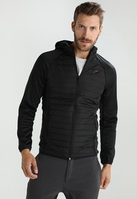 Jack & Jones - JCOMULTI QUILTED JACKET - Outdoorjacke - black - 0