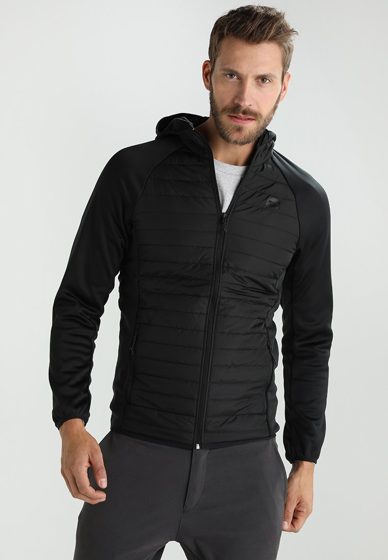 Jack & Jones - JCOMULTI QUILTED JACKET - Outdoorjacke - black