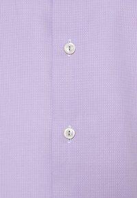 Eton - SLIM FINE DOTTED SHIRT - Formal shirt - purple - 2