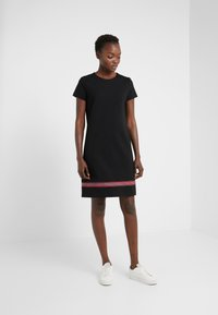 Escada Sport - ZALANDO X ESCADA SPORT DRESS - Jersey dress - black - 1