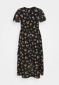 Dorothy Perkins Curve - CURVE PUFF SLEEVE DRESS - Maxi dress - multi - 1