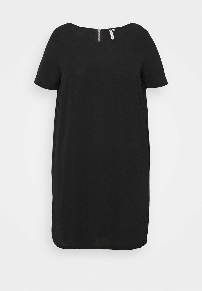 ONLY Carmakoma - CARLUXINA DRESS - Day dress - black