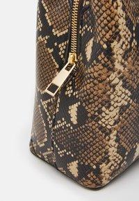 ALDO - SNAKE - Handbag - brown - 3