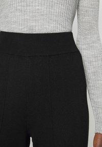 YAS Tall - YASFIBA PANTS  - Trousers - black - 5