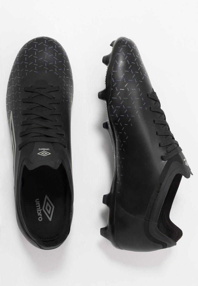 Umbro - VELOCITA V PREMIER FG - Scarpe da calcetto con tacchetti - black/carbon