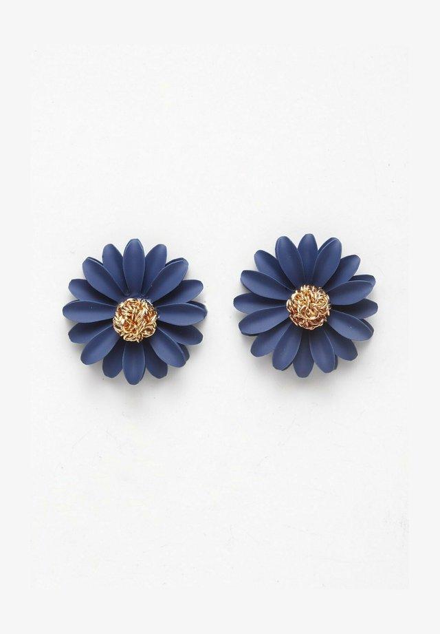 Boucles d'oreilles - blue