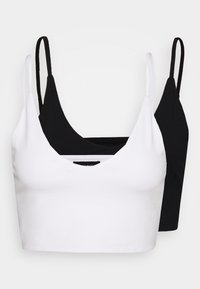 Even&Odd - 2 PACK - Top - white/black - 4