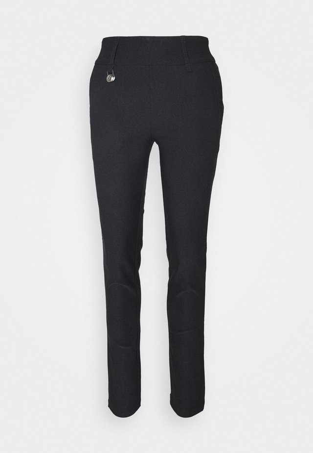 MAGIC PANTS - Trousers - black