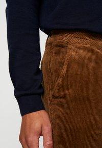 Pier One - Trousers - cognac - 3