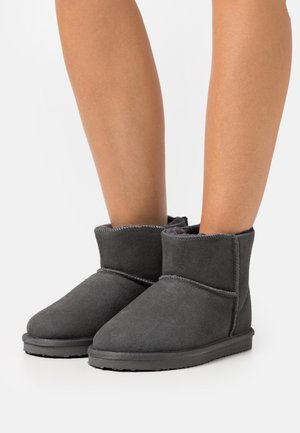 WIDE FIT BLANCHE - Stiefelette - grey