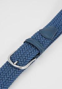 Anderson's - STRECH BELT UNISEX - Pletený pásek - teal - 4