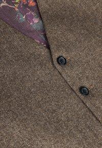 Next - Suit waistcoat - brown - 4