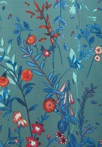 Esprit Collection - PRINT FLOWER - Maksimekko - dark turquoise - 5