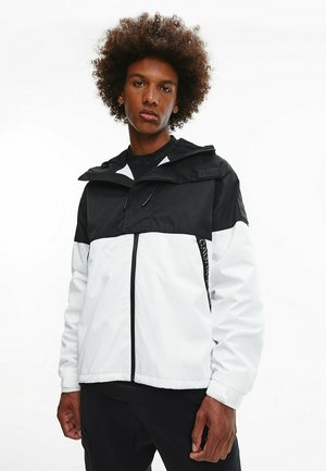 Windbreaker - bright white/ck black