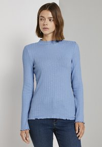 TOM TAILOR DENIM - Long sleeved top - summer blue - 6