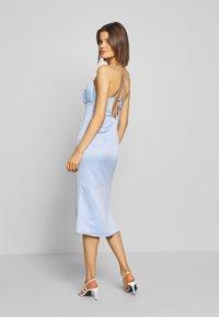 Fashion Union - EVA - Kjole - blue - 2