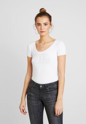 CAIRO - Print T-shirt - optic white